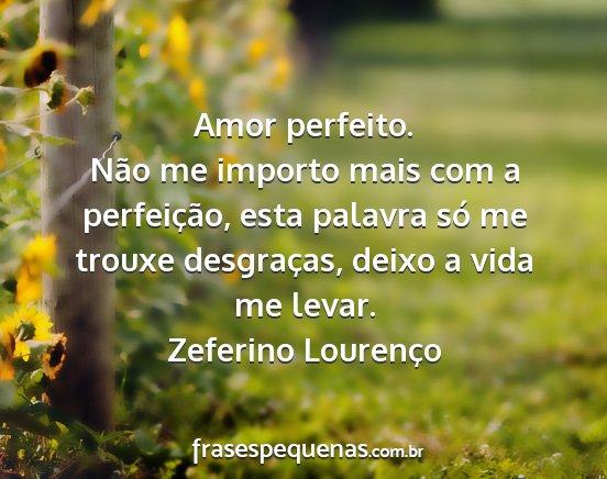 Amor Perfeito Não Me Importo Mais Com A