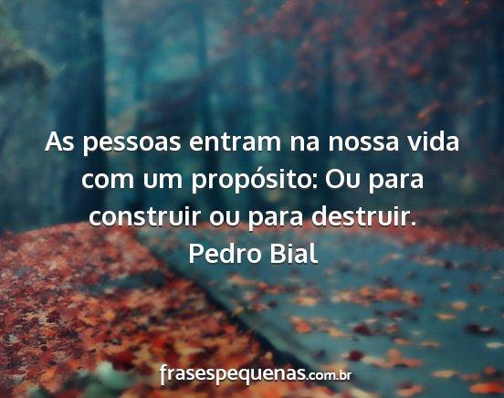 Pedro Bial Frases E Pensamentos