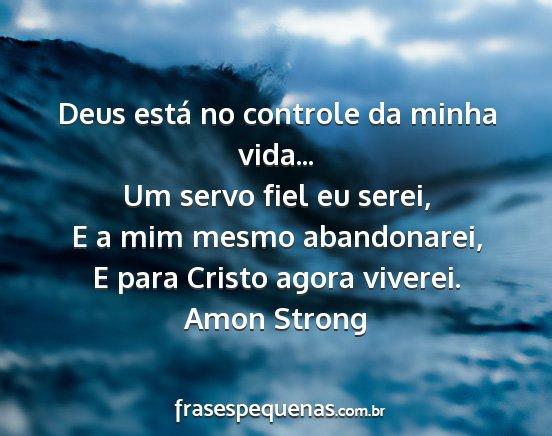 Deus Está No Controle Da Minha Vida Um Servo