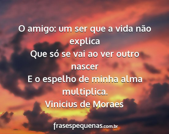 Vinicius De Moraes Frases E Pensamentos