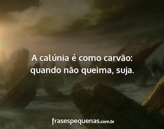 Frases De Calúnia