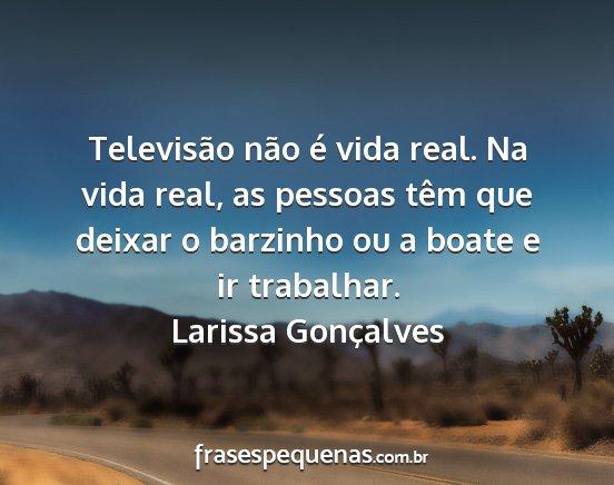 Televisão Não é Vida Real Na Vida Real As