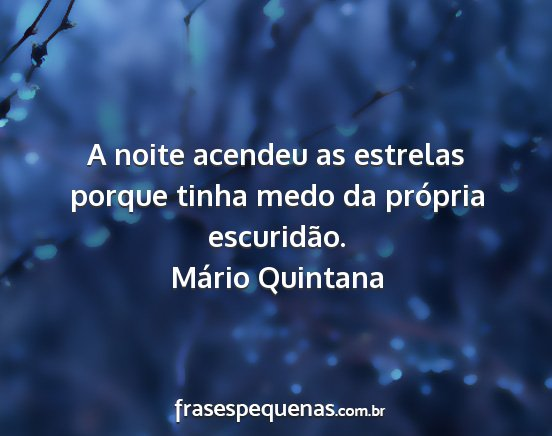 Boa Noite Mario Quintana: Frases E Pensamentos (2